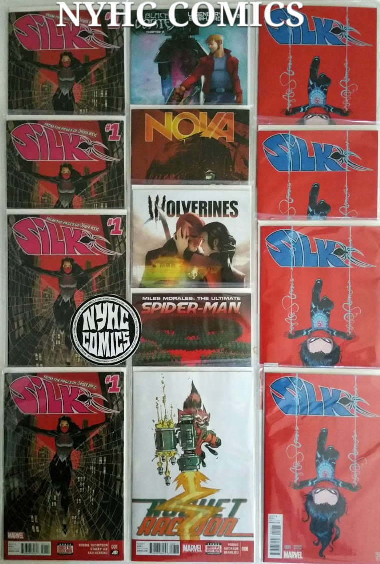 NYHC COMICS Weekly Stack 2/18/15