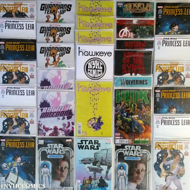 NYHC COMICS Weekly Stack 3/4/15