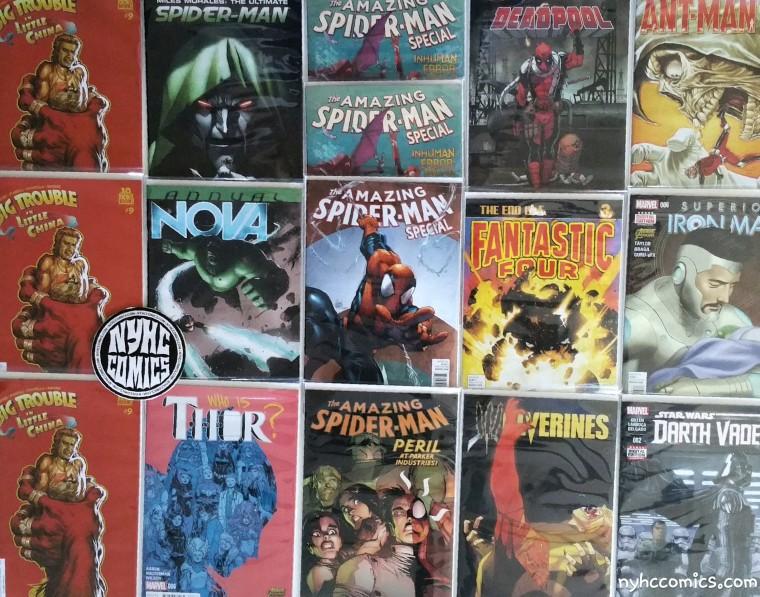 NYHC COMICS 3/11/15 Pt.2