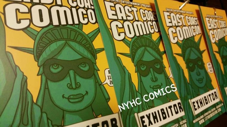 NYHC COMICS ECCC 2015