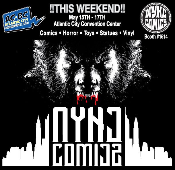NYHC COMICS ACBC Werwolf
