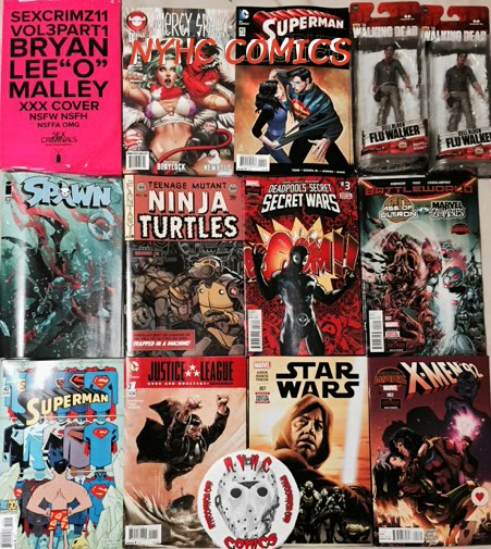NYHC COMICS Weekly Stack &-29-15