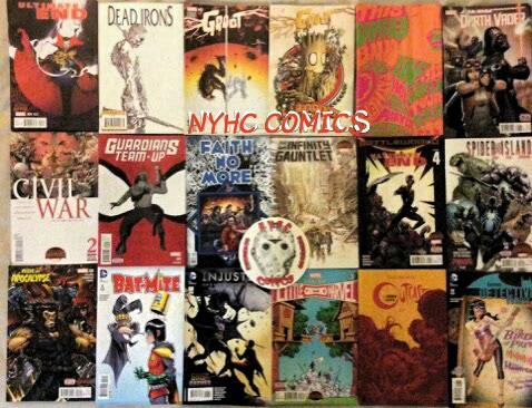 NYHC COMICS Weelky Stack 8-5-15