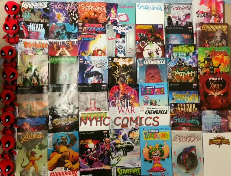 NYHC COMICS Weekly Stack 10-14-15