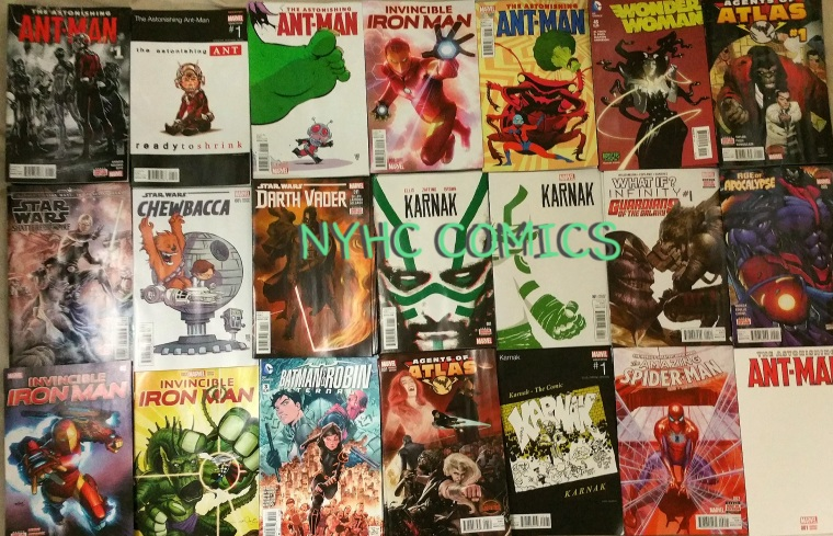 NYHC COMICS Weekly STack 10-21-15