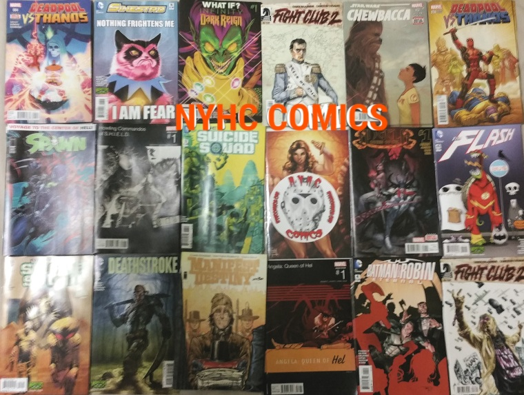 nyhc comics weekly stack 10-28-15