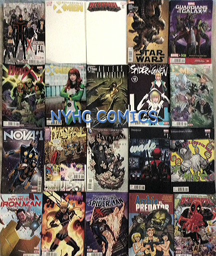 NYHC COMICS Weekly Stack 11-4-15