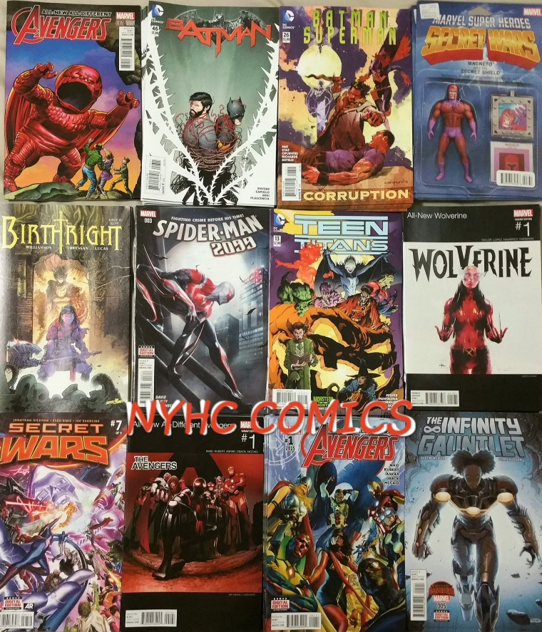 NYHC COMICS WEEKLY STACK11-11-15 PT1
