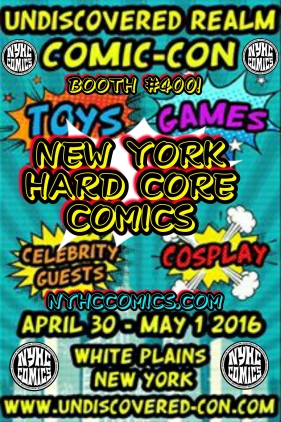 NYHC COMICS At Undiscovered Con Flyer 2