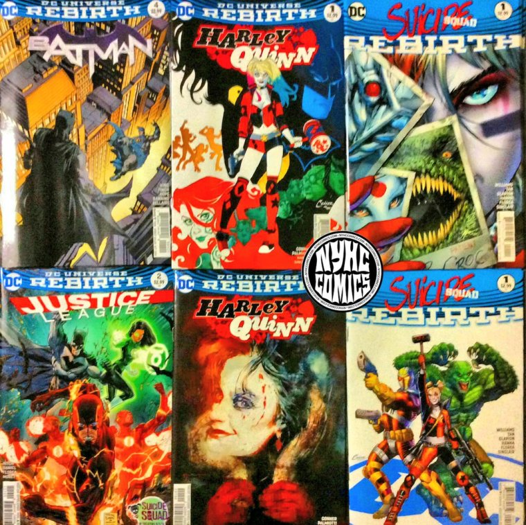 NYHC COMICS Weekly Stack 8-3-16  (2)